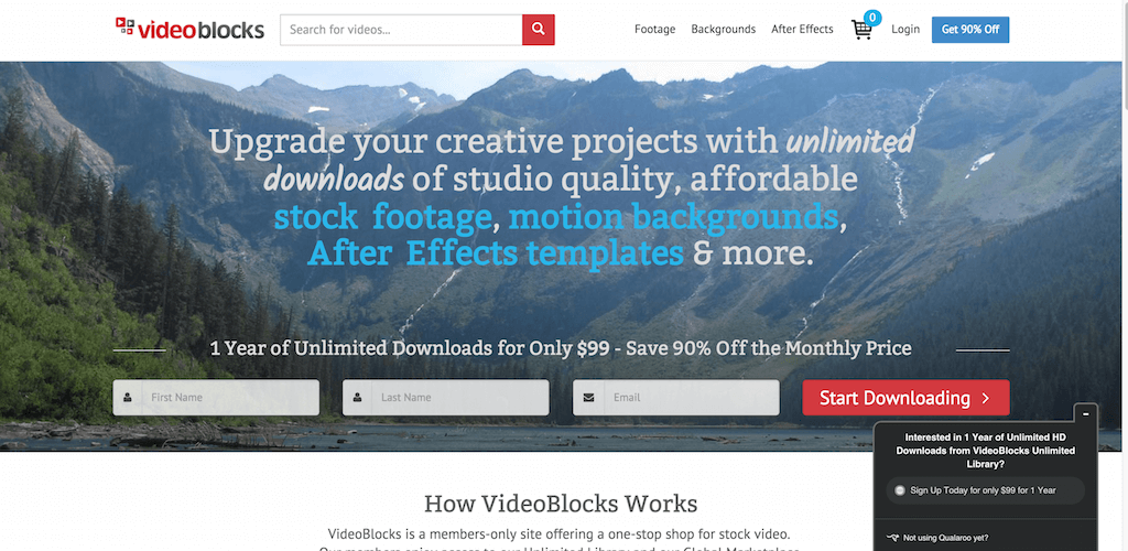 Unlimited Downloads of Stock Video Footage Backgrounds and More VideoBlocks
