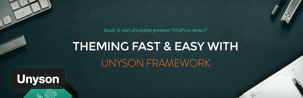 Unyson — WordPress Plugins