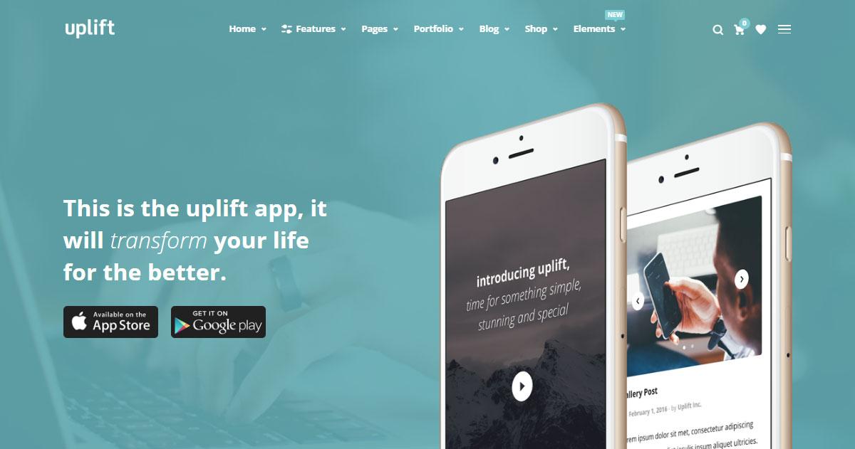 Uplift WordPress Theme Review App