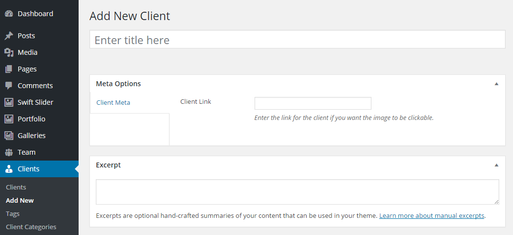 Uplift WordPress Theme Review Custom Post Types