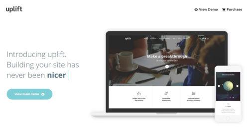 Uplift WordPress Theme Review FT