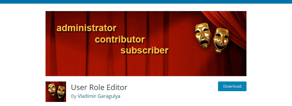 WordPress User Management Plugins -User Role Editor
