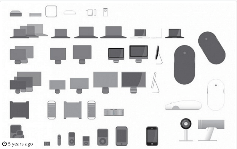 Vector Icons for Apple Products