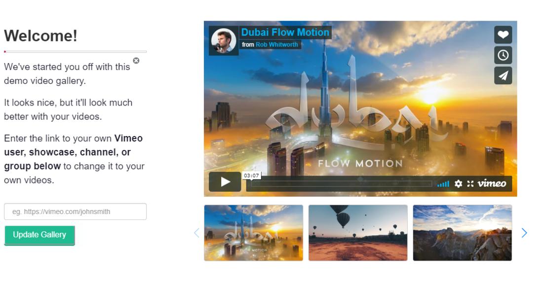 Vimeography Vimeo Video Gallery WordPress Plugin Settings Page