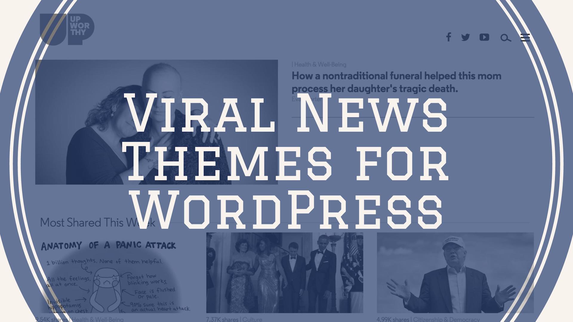 Top 22 Free & Premium Viral News & Buzz Themes For WordPress 2019