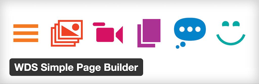 WDS Simple Page Builder — WordPress Plugins