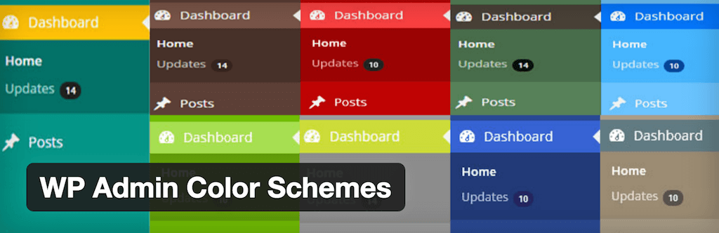 WP Admin Color Schemes — WordPress Plugins