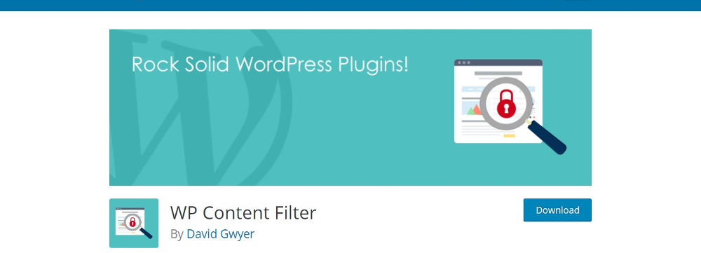 WP Content Filter