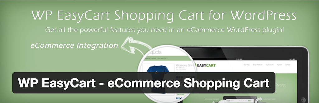 WP EasyCart eCommerce Shopping Cart — WordPress Plugins