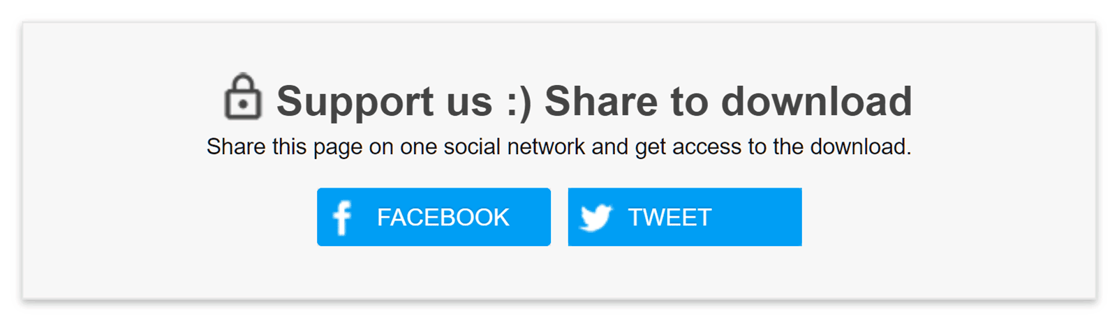 Social Share Features