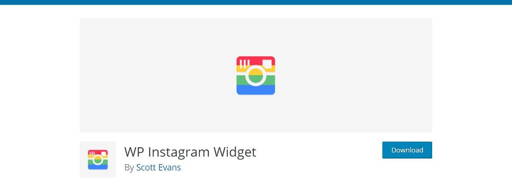 WordPress Instagram Widgets -WP Instagram Widget