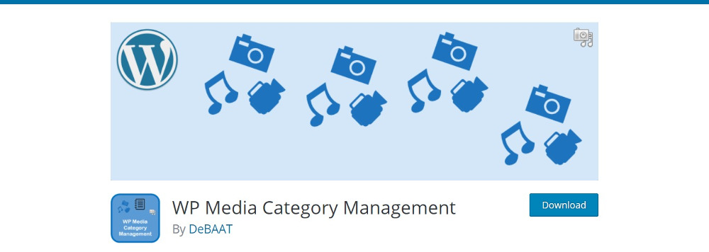 WP Media Category Management