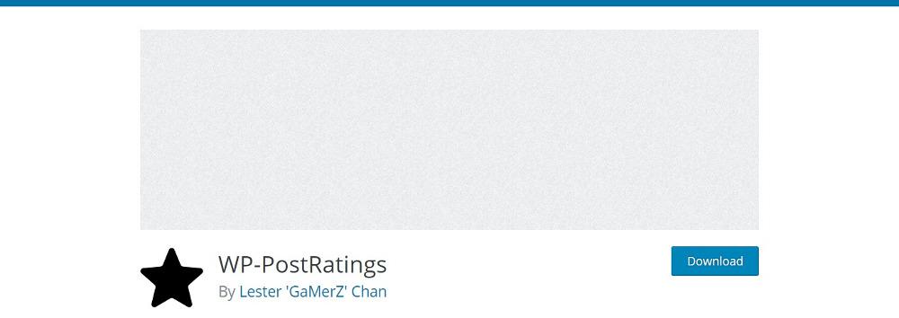 WordPress Voting Plugins: WP Post Ratings
