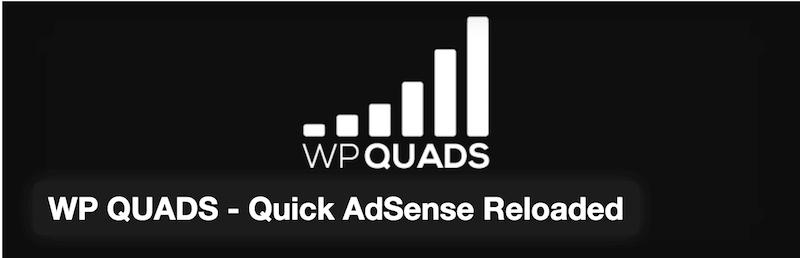 WP QUADS - Quick AdSense Reloaded