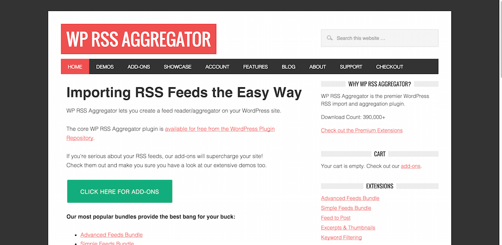 WP RSS Aggregator The no.1 Plugin for Importing RSS into WordPress
