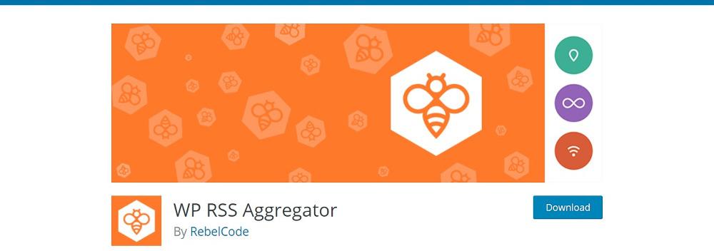 WordPress Autoblogging Plugins WP RSS Aggregator