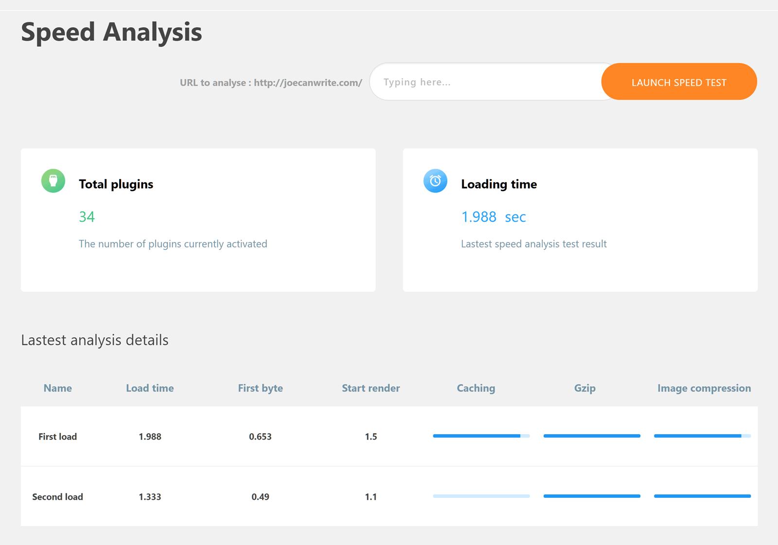 Analysis Before