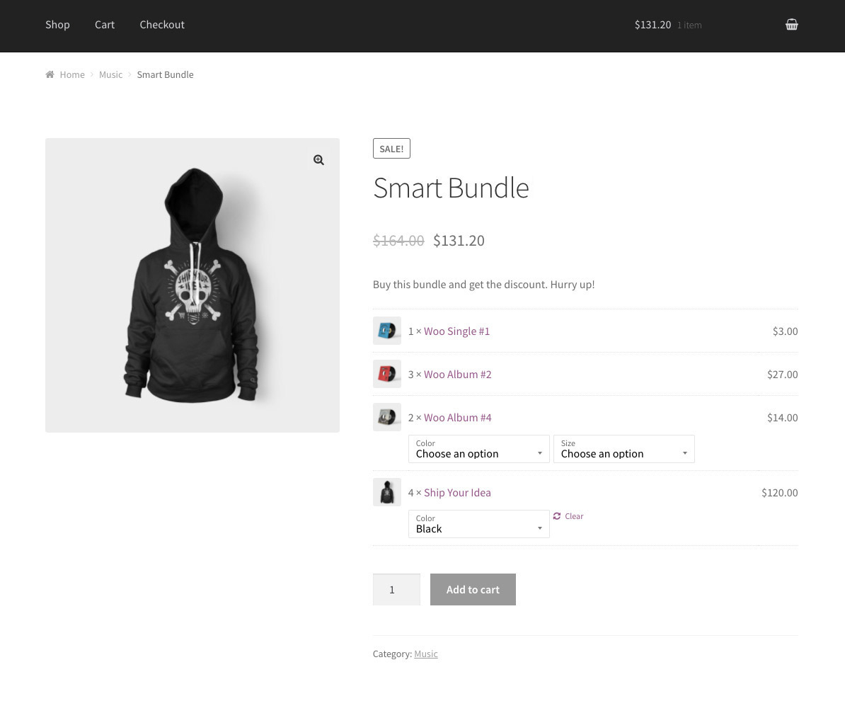 Functional WooCommerce Composite Products