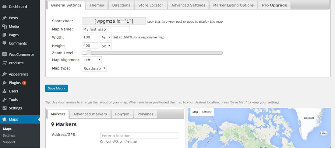 WPGoogle Maps