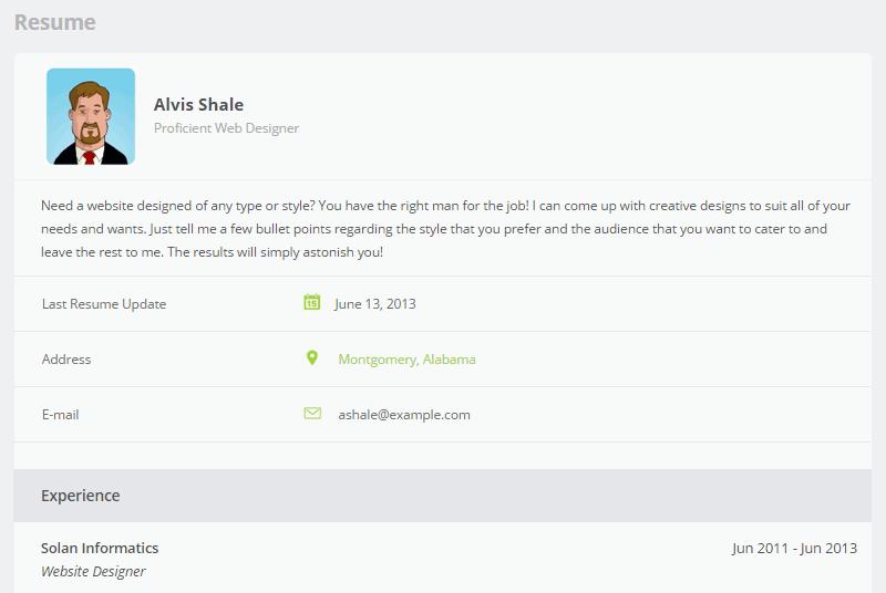 seekers email resume recruiters