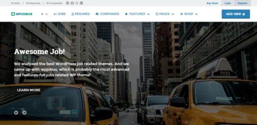 WPJobus WordPress Theme Review