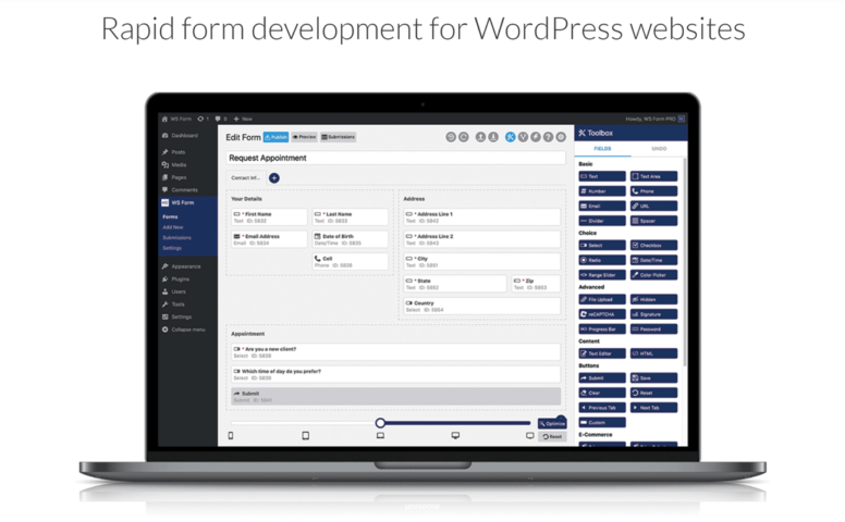 WS Form Plugin FT