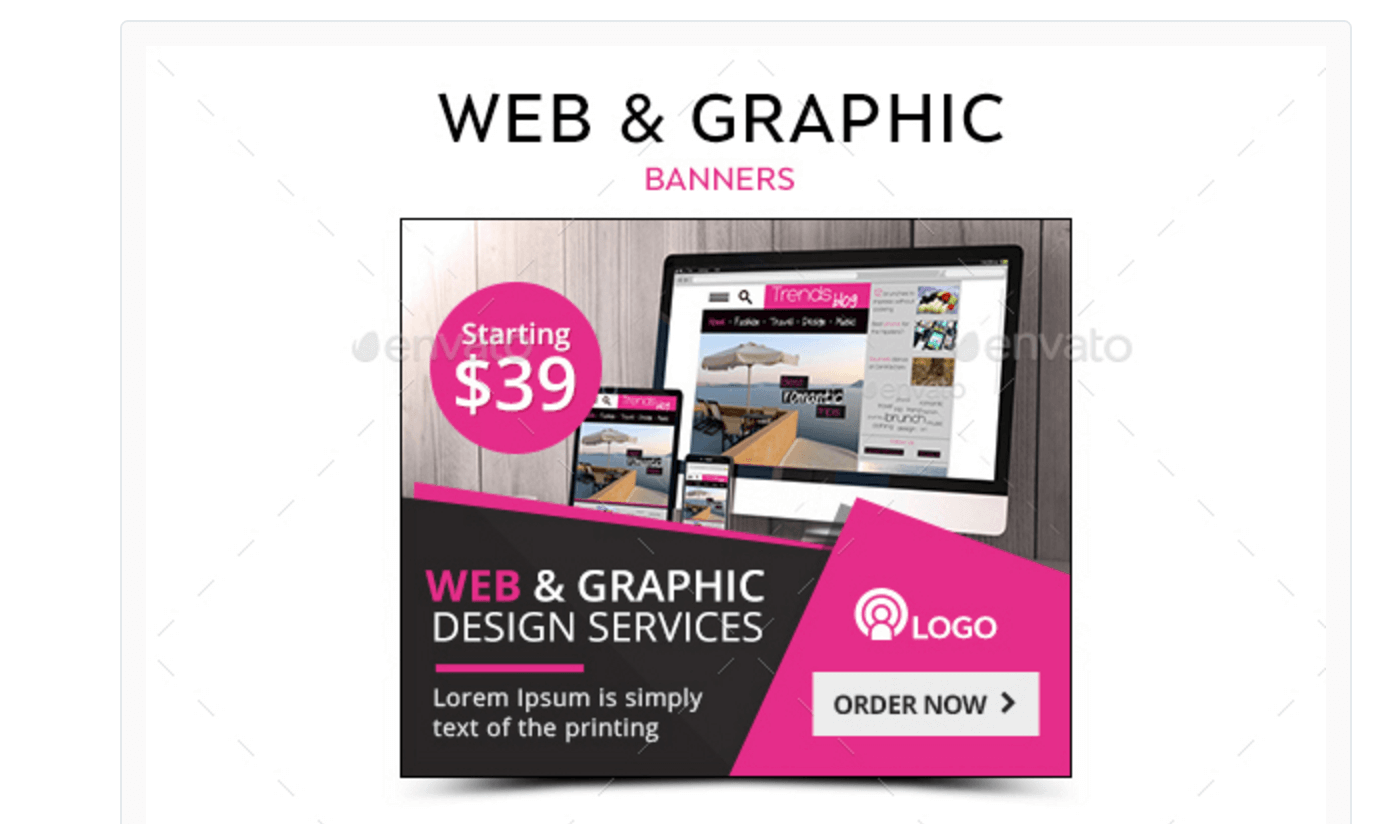Web & Graphic Banners for Product Exposure