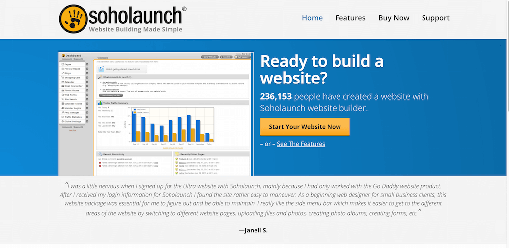 Website Builder by Soholaunch Content Management System CMS and Web Design Software for Everyone