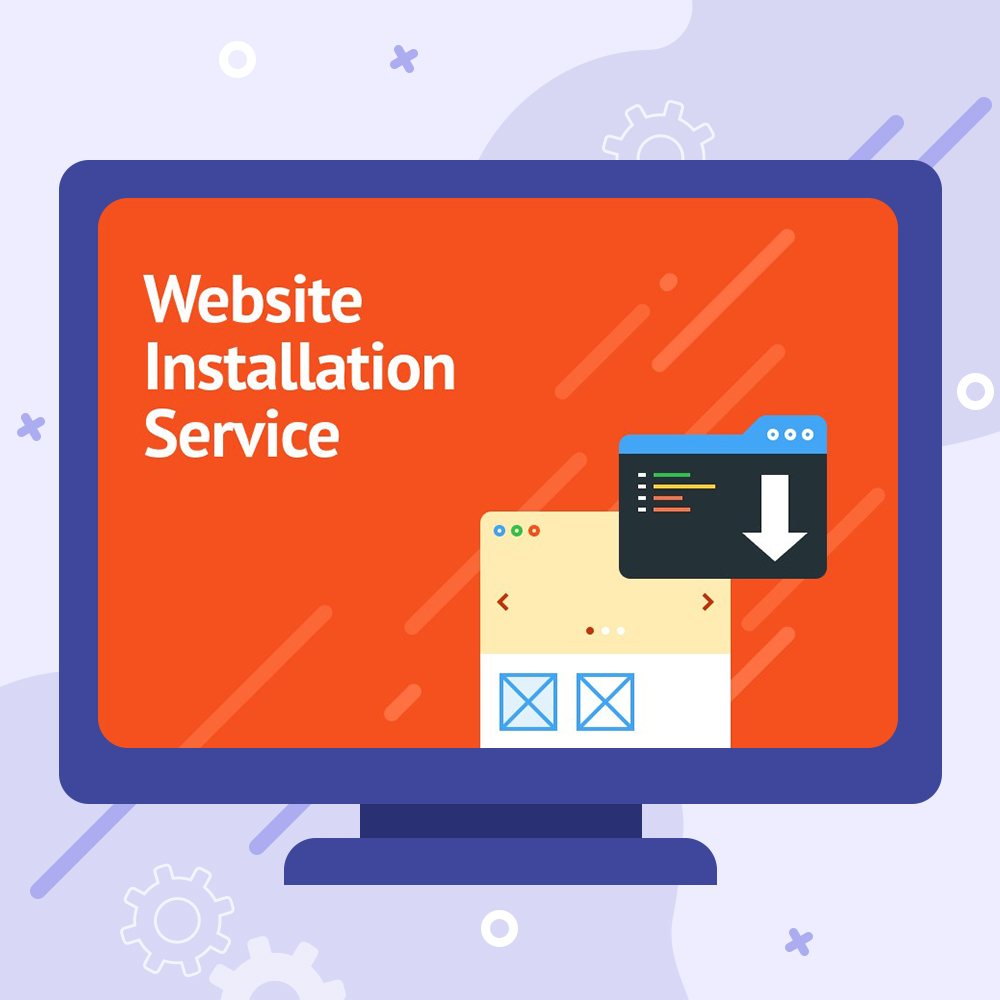 Website Installation Service - Theme Setup