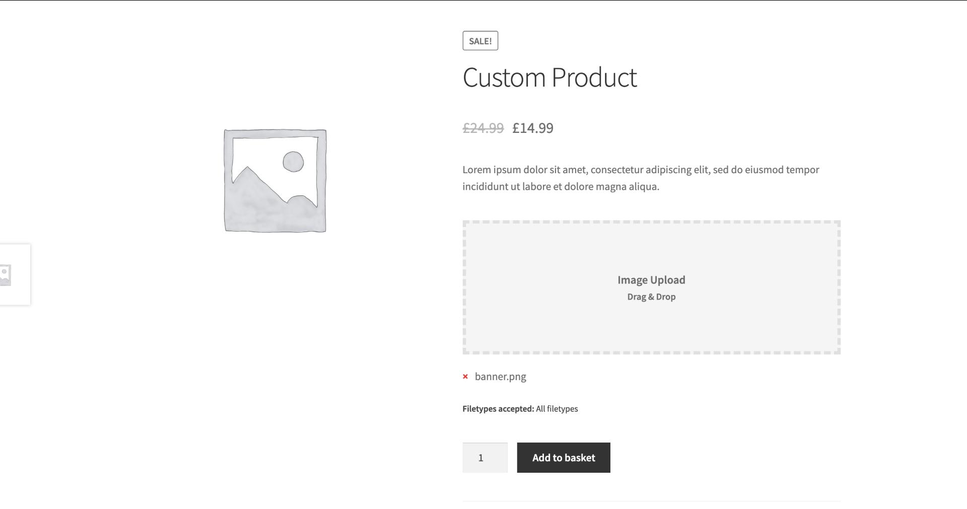 Functional WooCommerce File Upload Plugins