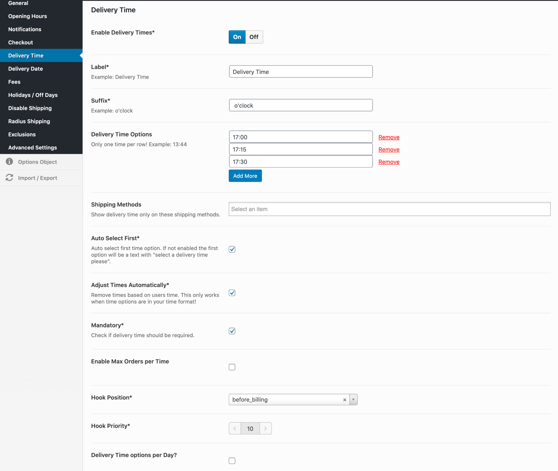Detailed WooCommerce Delivery Date Plugins