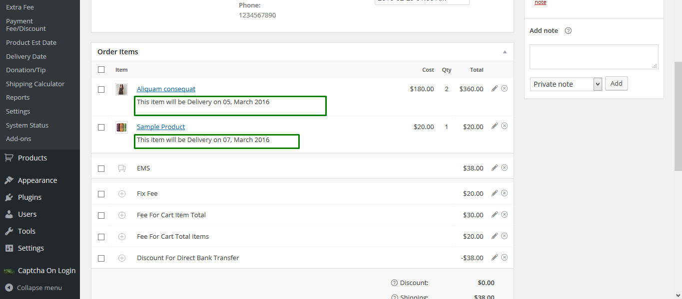 Simple WooCommerce Delivery Date Plugins
