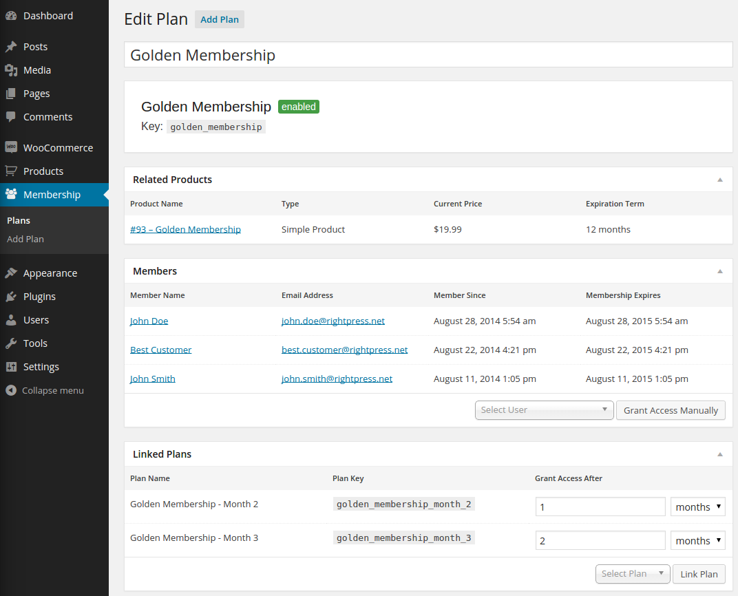 User-Friendly WooCommerce Membership Plugins