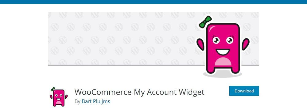 WooCommerce MyAccount Widget