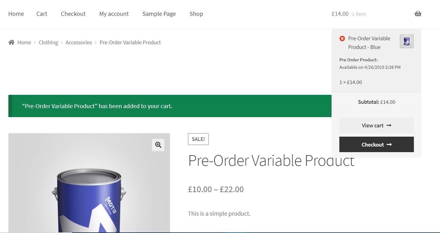 Responsive WooCommerce Pre-order Plugins