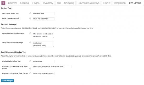 Simple WooCommerce Pre-order Plugins