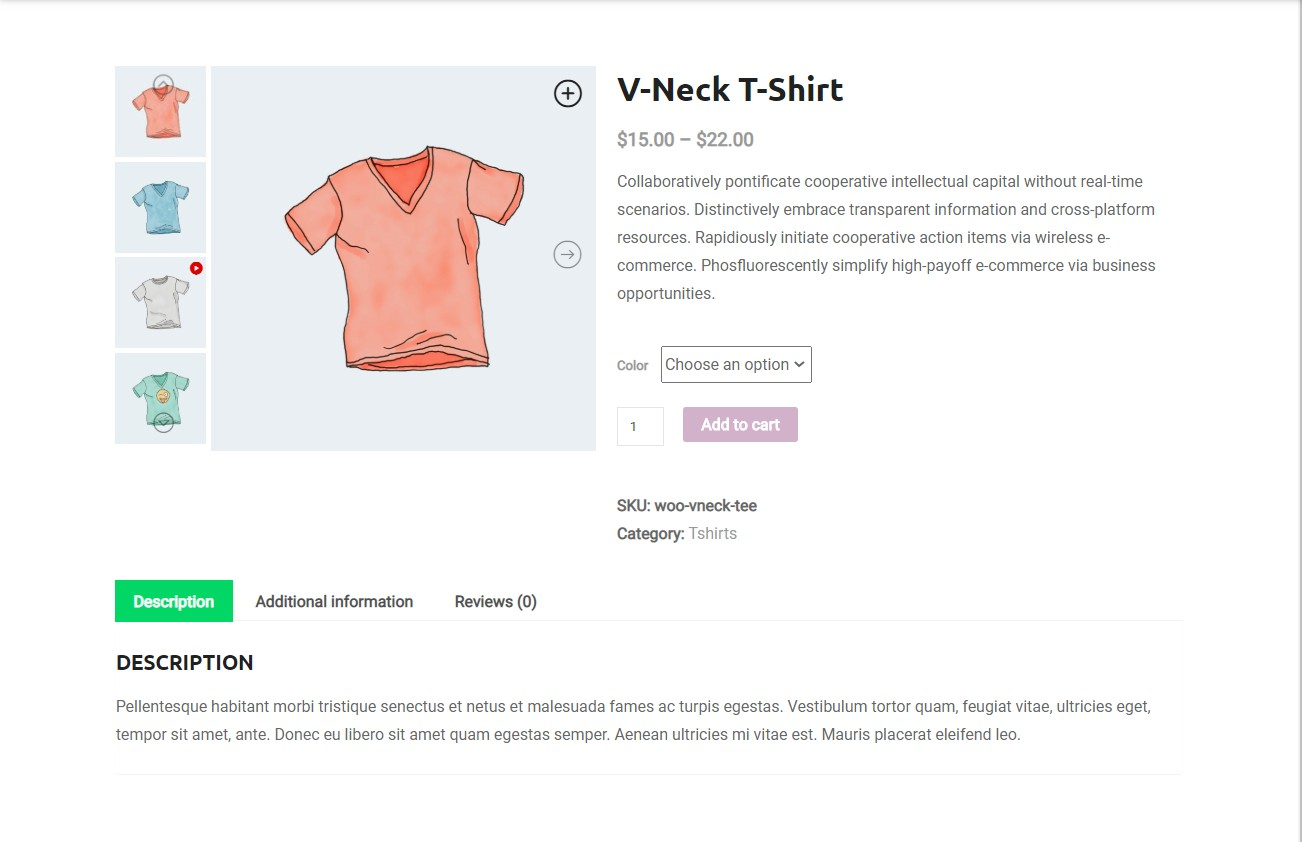 Responsive WooCommerce Product Gallery Slider