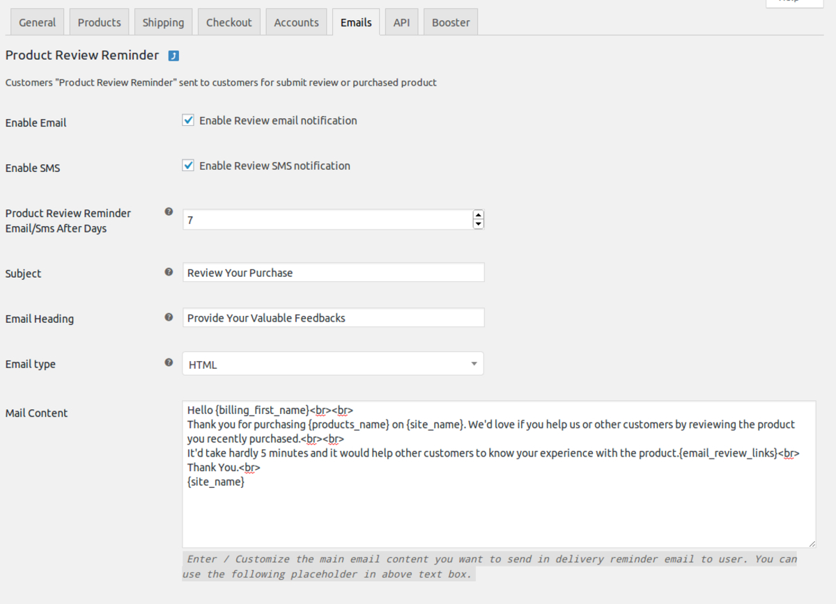 Simple WooCommerce Follow Up Emails