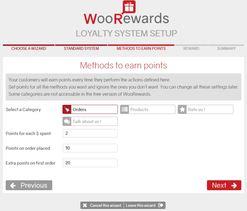 Functional WooCommerce Points and Rewards
