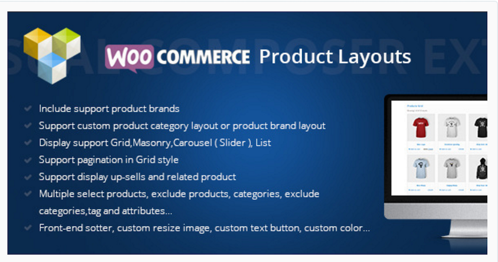 Woocommerce Products Layouts WordPress