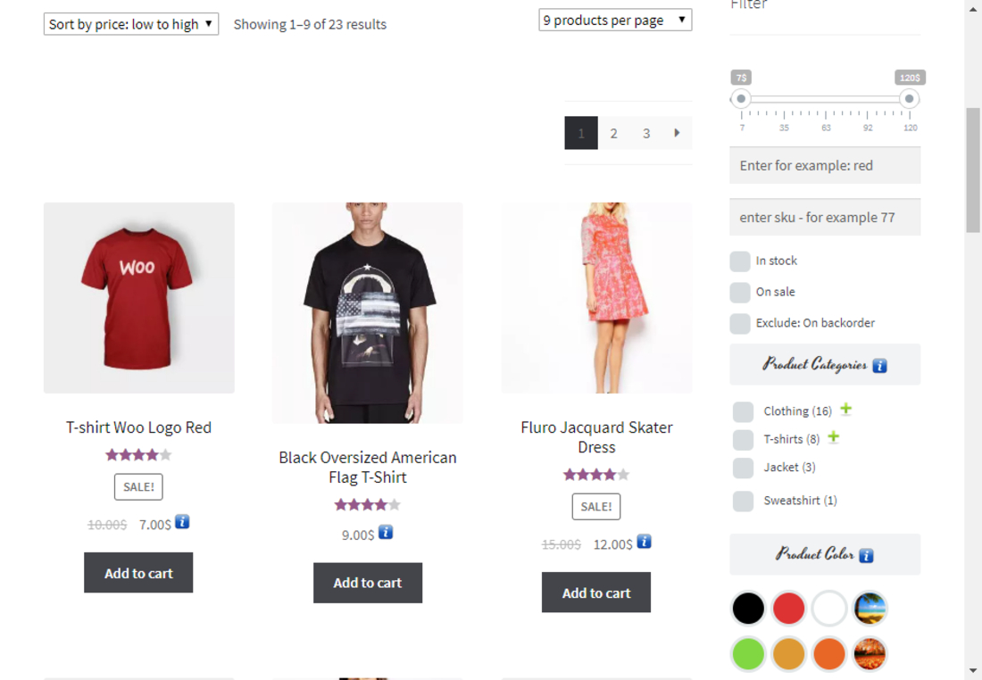 Responsive WooCommerce Product FIlter