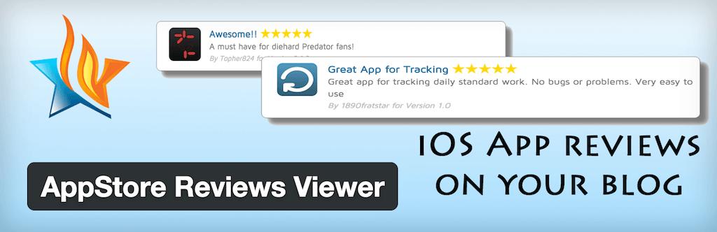 WordPress › AppStore Reviews Viewer « WordPress Plugins