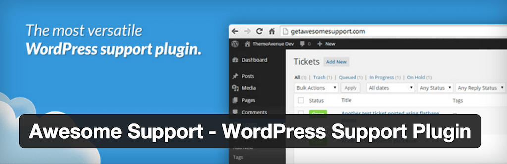 WordPress › Awesome Support WordPress Support Plugin « WordPress Plugins