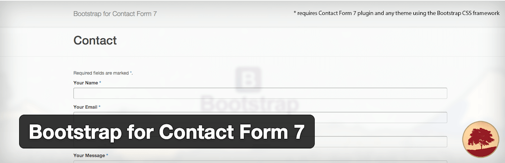 WordPress › Bootstrap for Contact Form 7 « WordPress Plugins