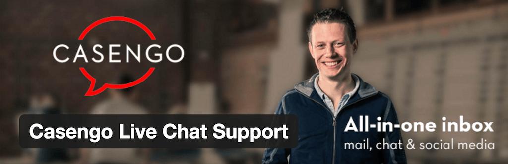 WordPress ›Casengo Canlı Sohbet Desteği« WordPress Eklentileri