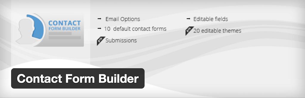 WordPress › Contact Form Builder « WordPress Plugins