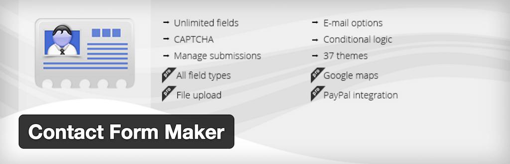 WordPress › Contact Form Maker « WordPress Plugins