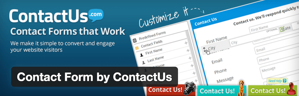 WordPress › Contact Form by ContactUs « WordPress Plugins