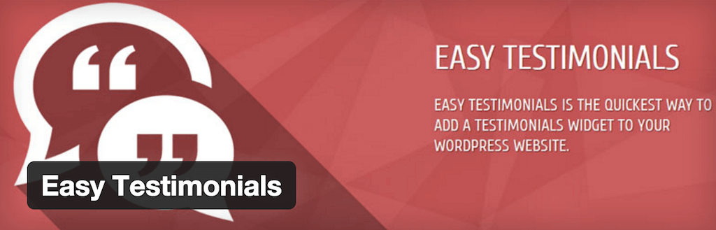 WordPress › Easy Testimonials « WordPress Plugins