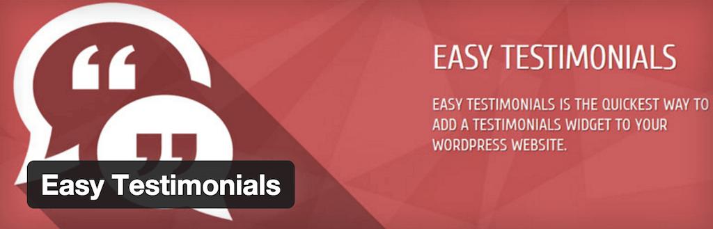WordPress › Easy Testimonials « WordPress Plugins